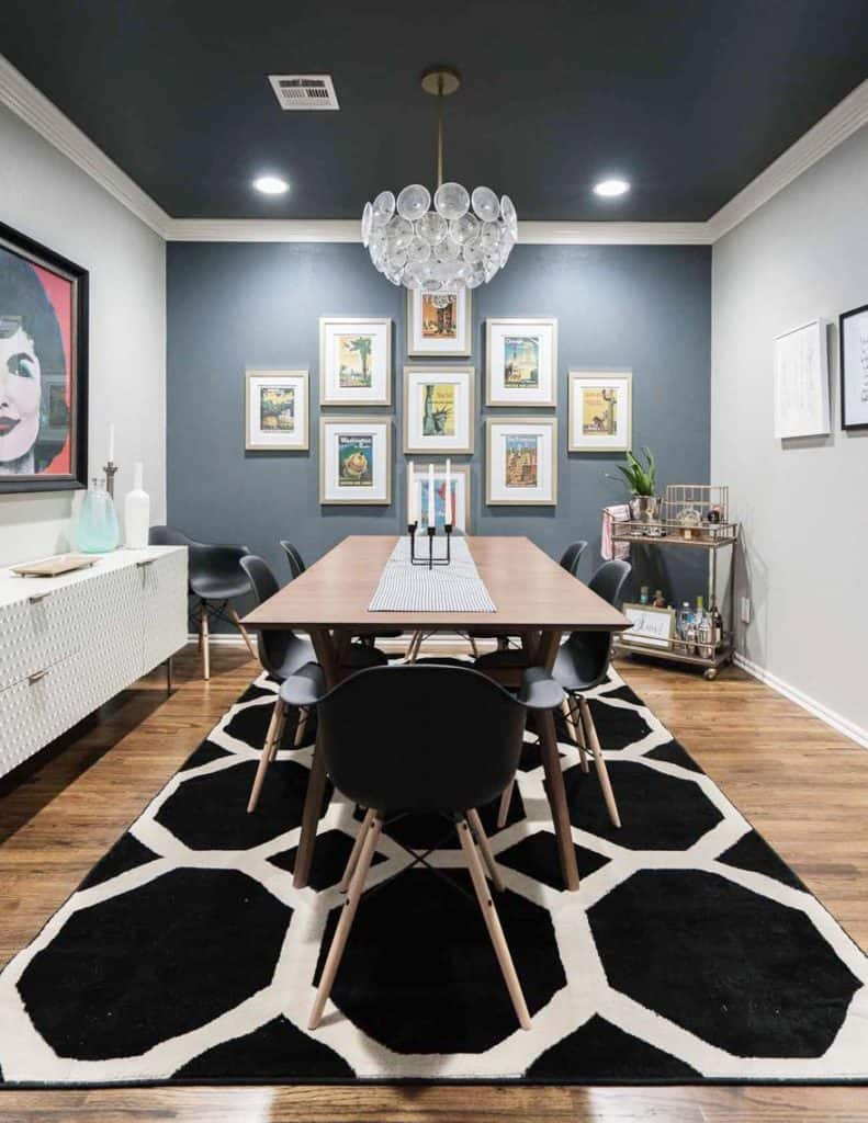 HOM: The Unique Home of Melissa from Polished Habitat dining room