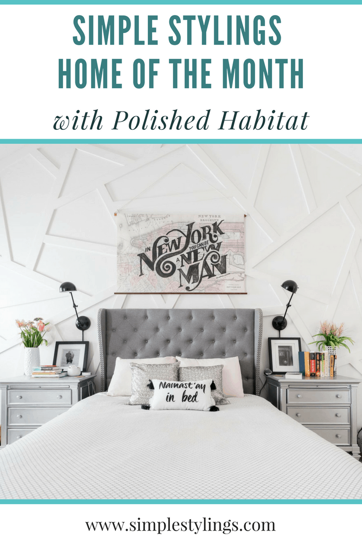 HOM: The Unique Home of Melissa from Polished Habitat pin