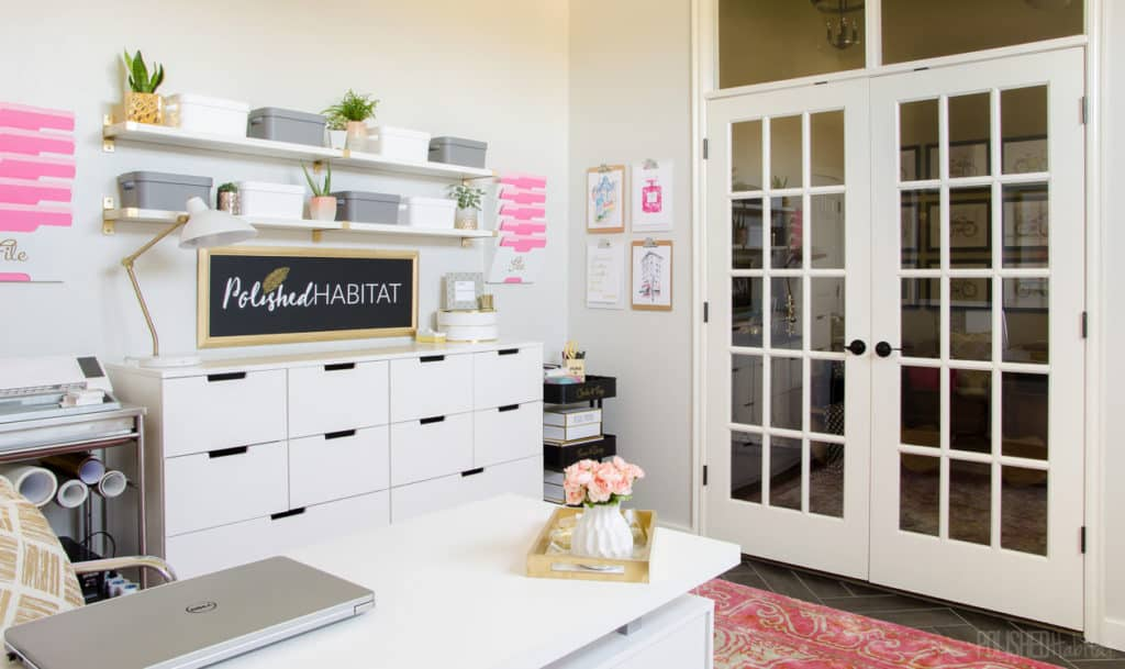 HOM: The Unique Home of Melissa from Polished Habitat office 2
