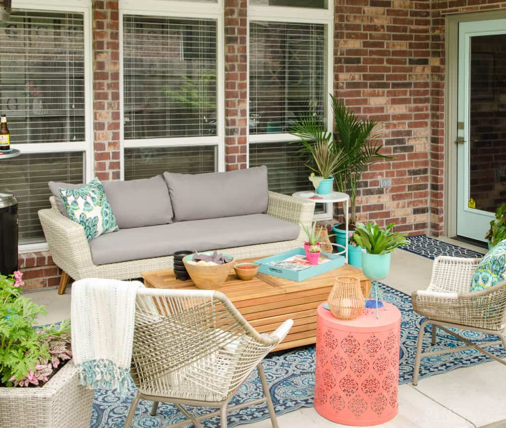 HOM: The Unique Home of Melissa from Polished Habitat patio