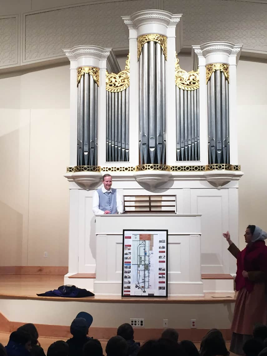 Roadtrip Reality: A Day Trip To Old Salem, NC museum organ