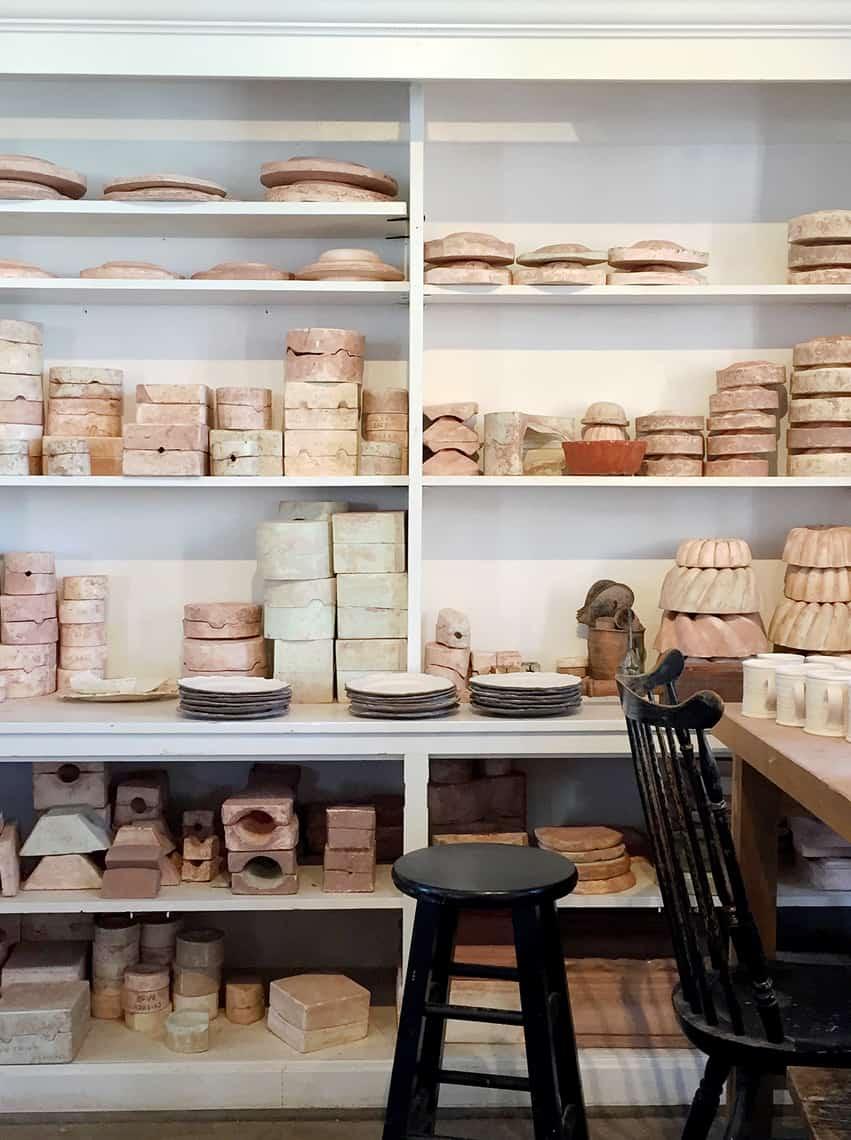 Roadtrip Reality: A Day Trip To Old Salem, NC pottery