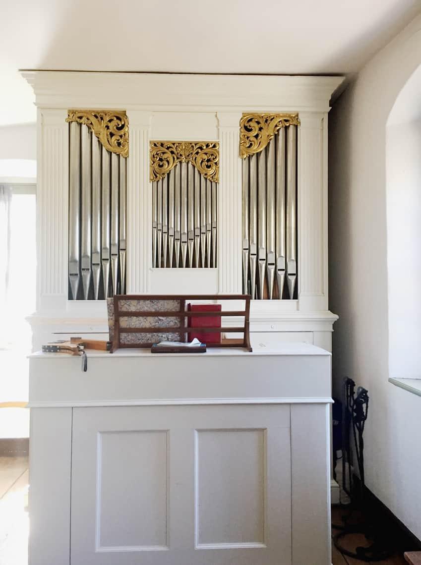 Roadtrip Reality: A Day Trip To Old Salem, NC organ