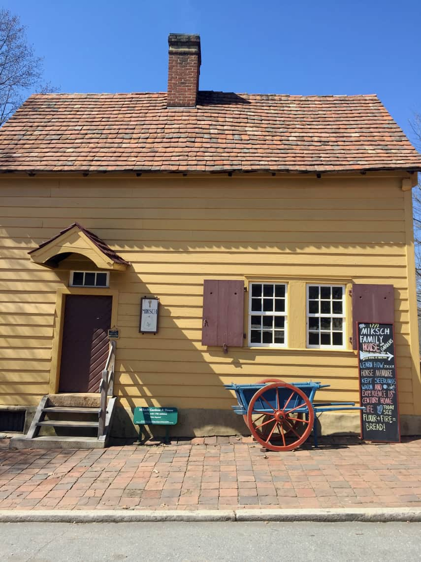 Roadtrip Reality: A Day Trip To Old Salem, NC miksch house