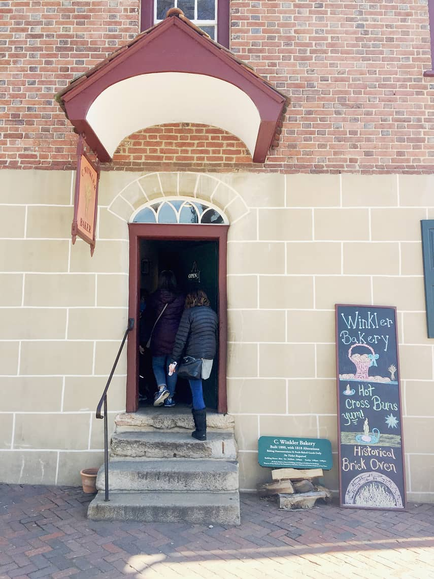 Roadtrip Reality: A Day Trip To Old Salem, NC winkler bakery