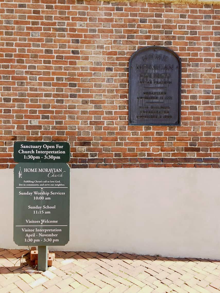 Roadtrip Reality: A Day Trip To Old Salem, NC moravian church