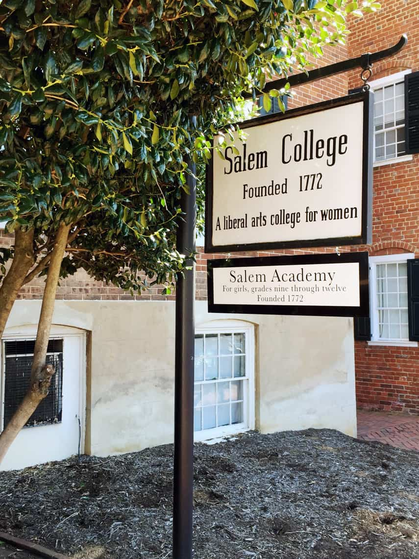 Roadtrip Reality: A Day Trip To Old Salem, NC college