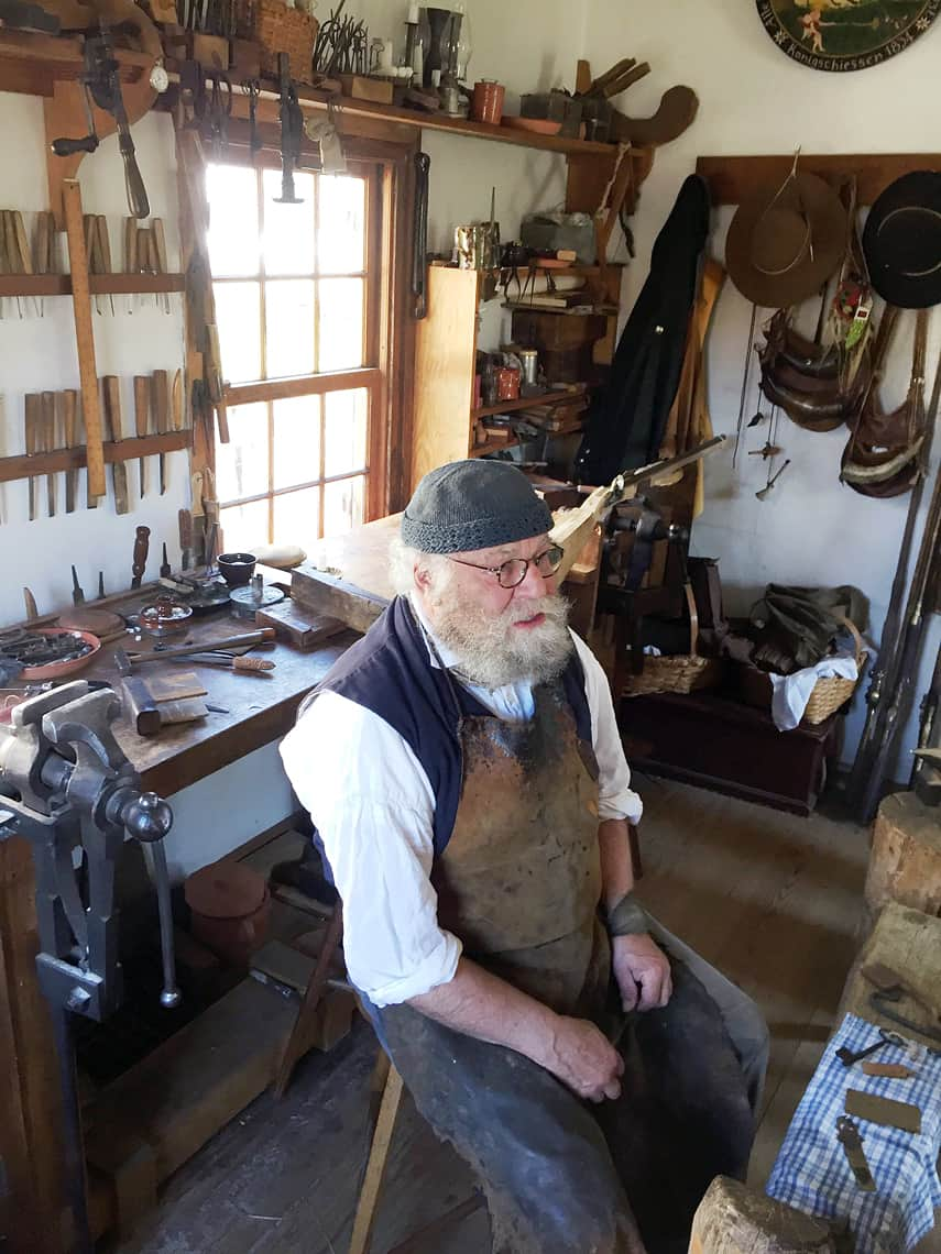 Roadtrip Reality: A Day Trip To Old Salem, NC gunsmith