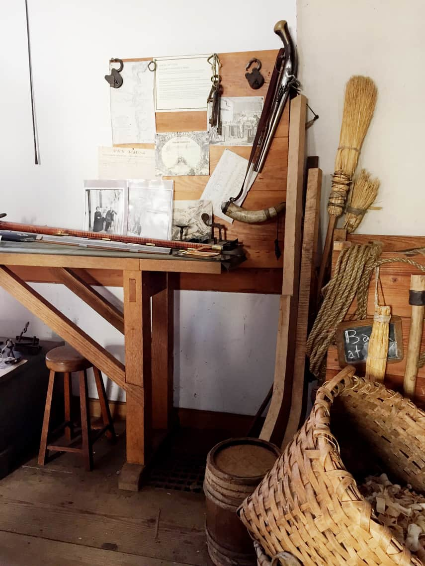 Roadtrip Reality: A Day Trip To Old Salem, NC guns