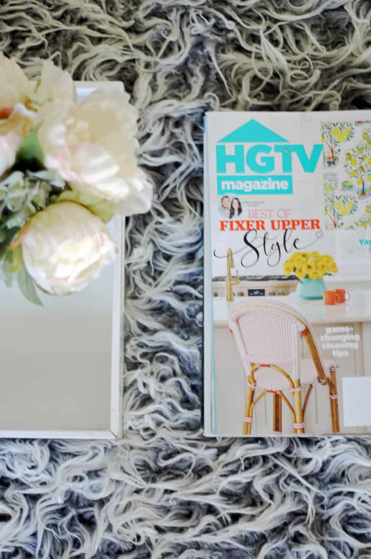 Spring 2018: A Wannabe Minimalist Home Tour diy coffee table