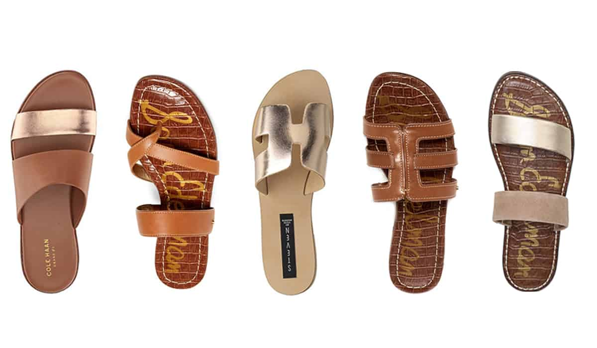 Top 5 Friday: My Five Favorite Flat Sandals For Spring