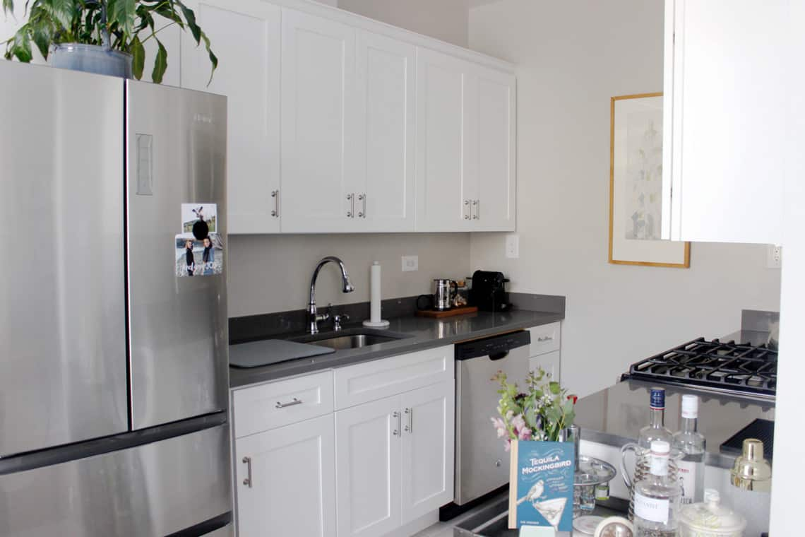 Home of the Month: Elaine's Stylish Brooklyn Studio kitchen