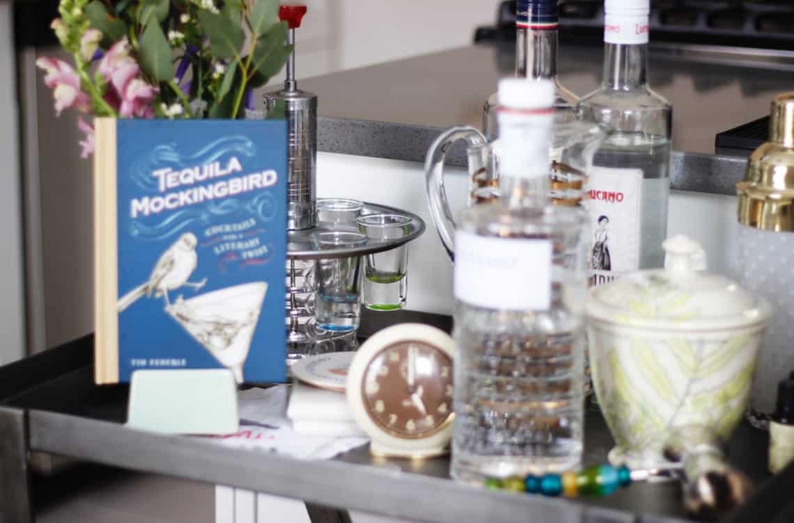 Home of the Month: Elaine's Stylish Brooklyn Studio bar 2