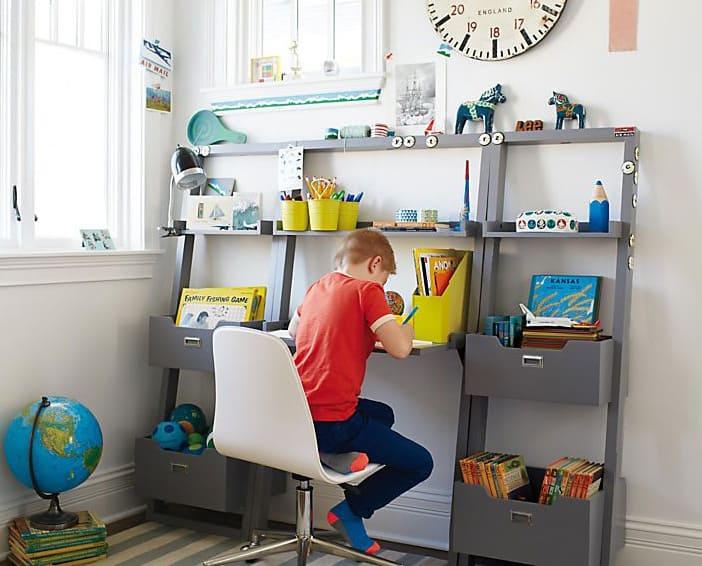 Client Files: A Modern + Sophisticated Playroom Design desk