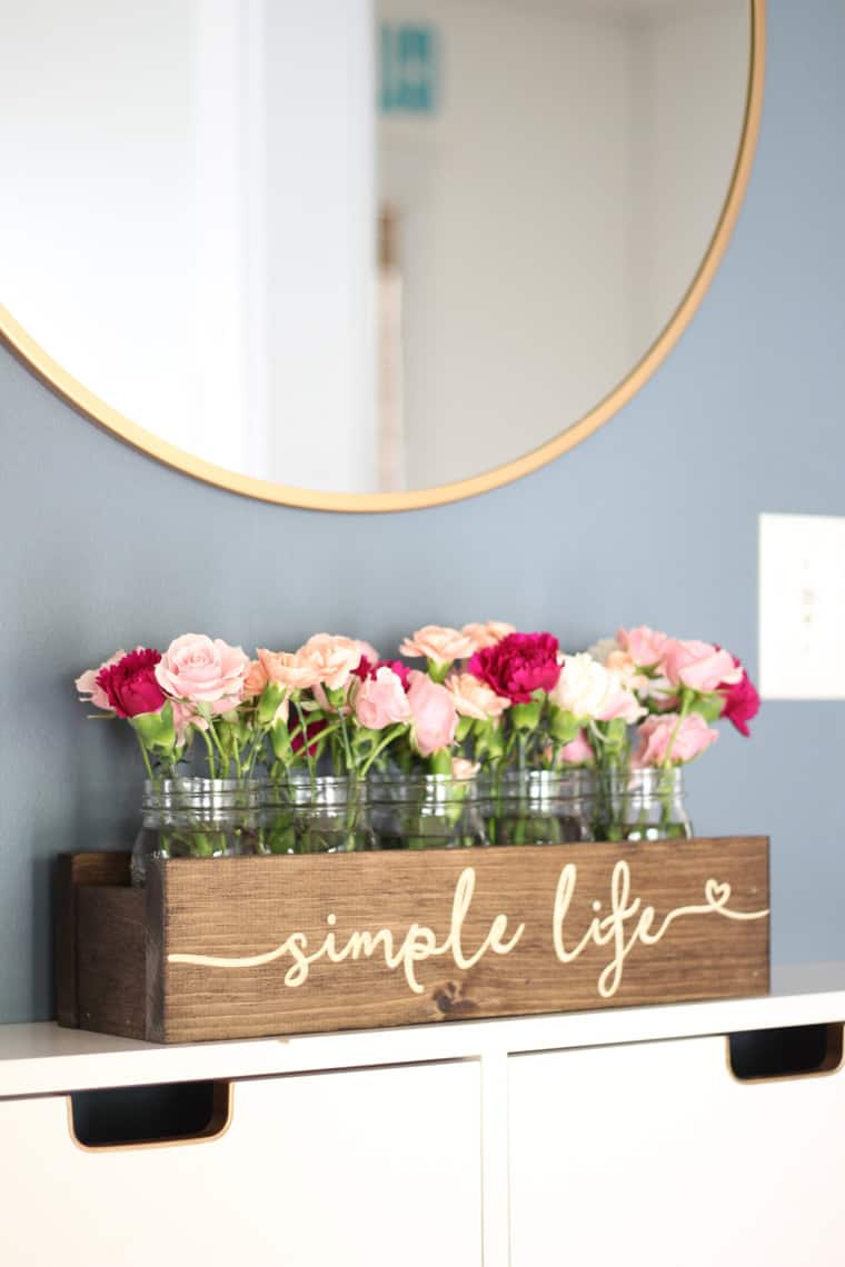 When The Home Decor Itch For Change Comes 'A Knockin'... vase
