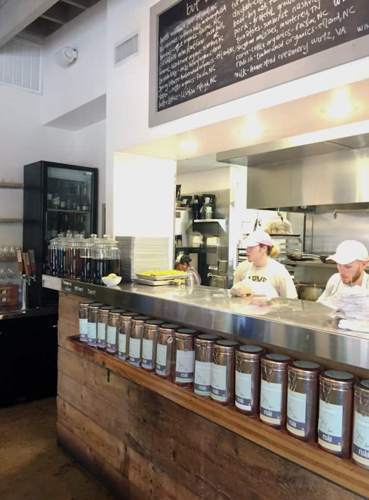 Local Spotlight: The Pickled Peach Davidson NC tea
