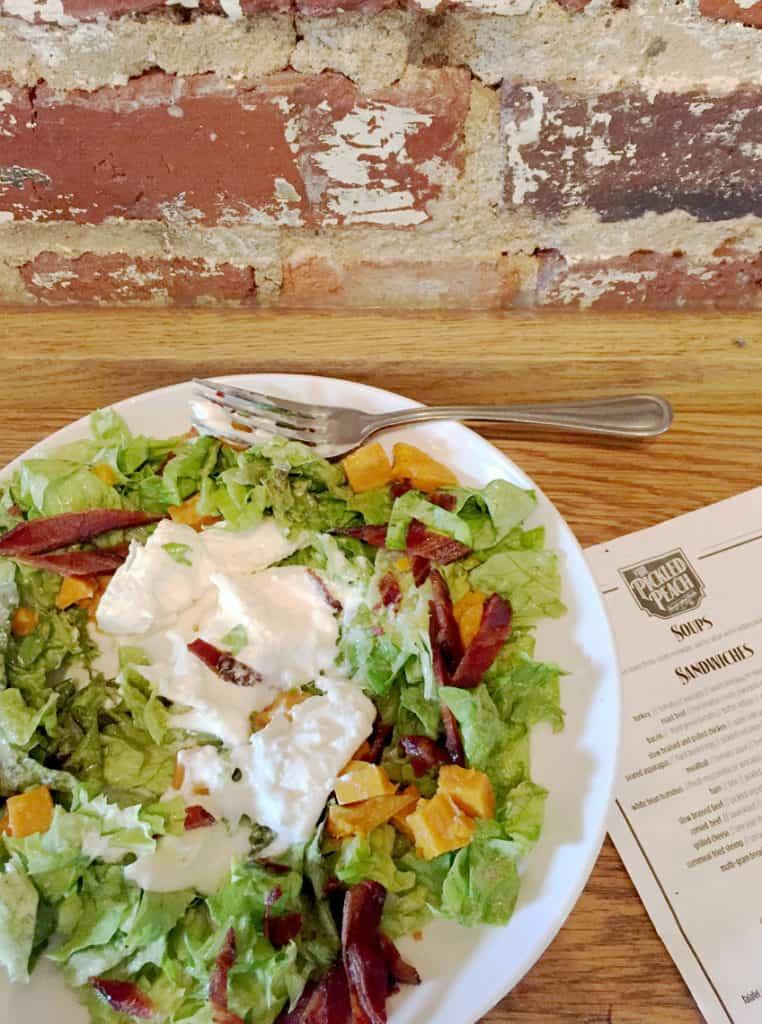 Local Spotlight: The Pickled Peach Davidson NC salad