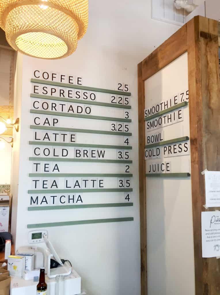 Local Spotlight: The Pickled Peach Davidson NC coffee