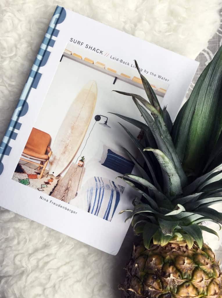 California style home decor book Surf Shack