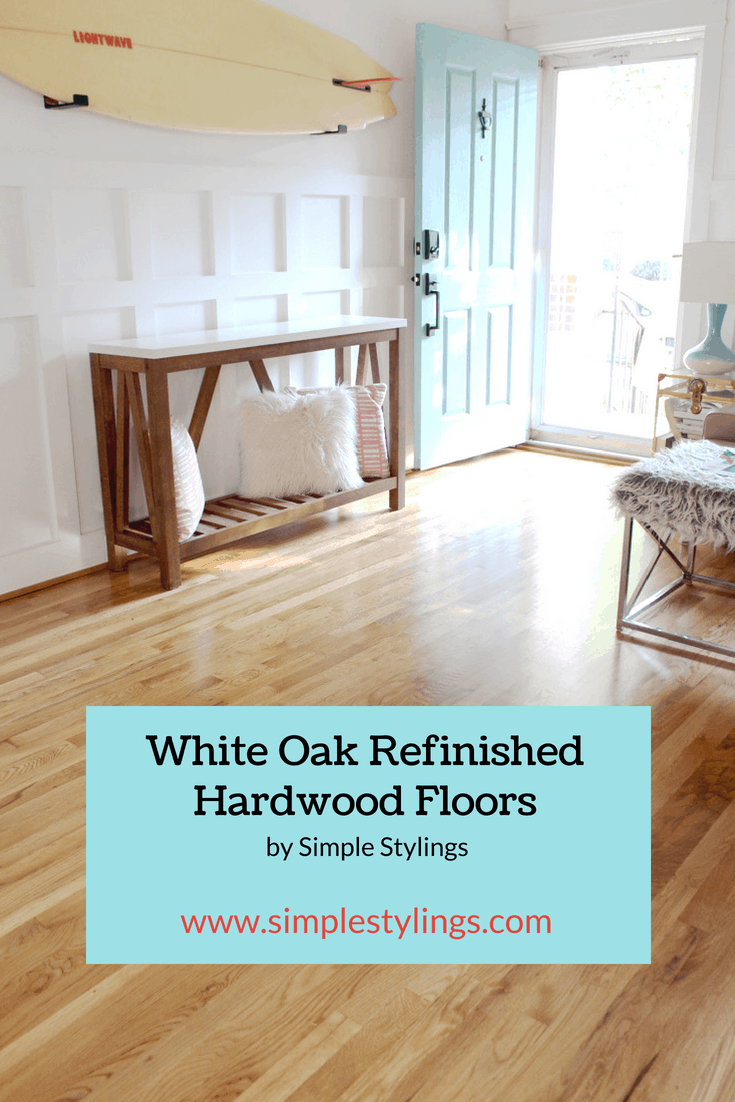 Before + After: New & Refinished Hardwood Floors pin
