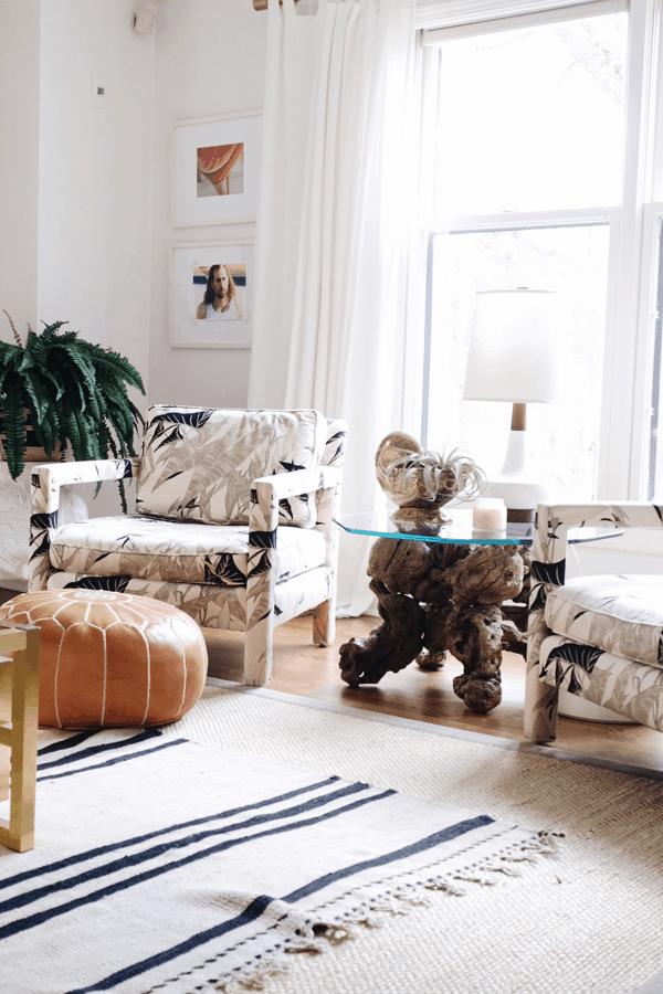 HOM: House of Hipsters Magazine-Worthy Boho Home living room