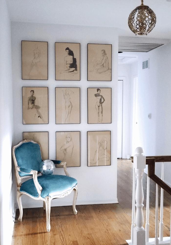 HOM: House of Hipsters Magazine-Worthy Boho Home hallway