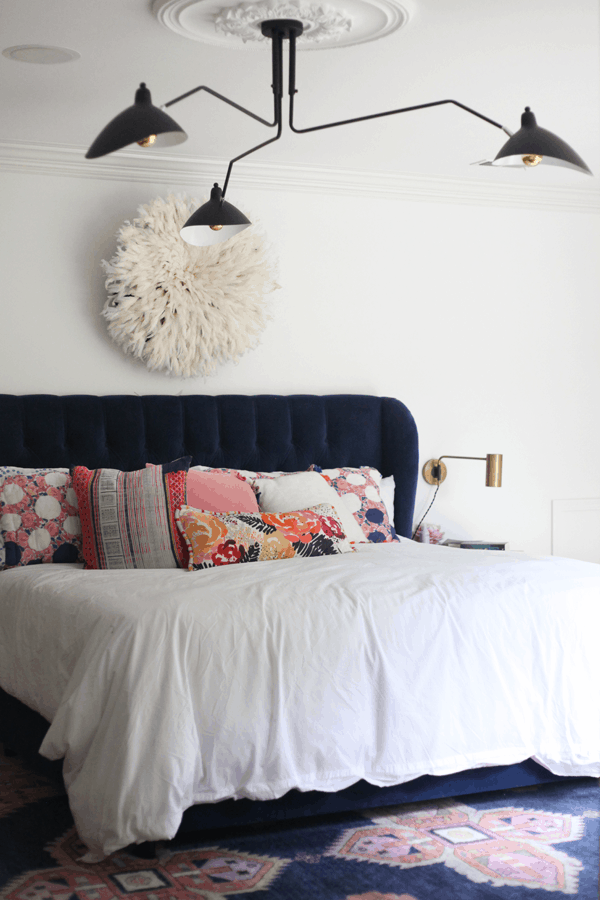 HOM: House of Hipsters Magazine-Worthy Boho Home master bedroom