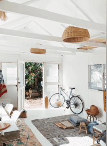 California style home decor is not about perfection