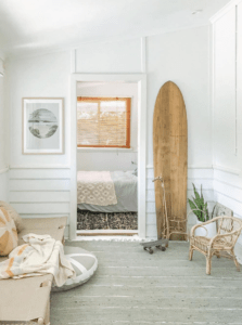 A California style beach cottage with a lived-in feel
