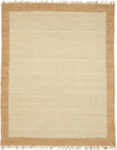 Top 5 Friday: Favorite Jute Rugs With Fringe Under $300 color block