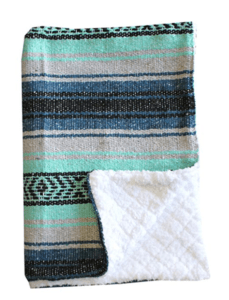 June Favorite Things + What's New Around The House mexican blanket
