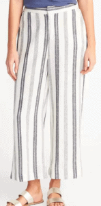 Top 5 Friday: Must-Have Summer Outfit Staples cropped linen pants