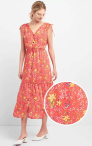 Top 5 Friday: Must-Have Summer Outfit Staples floral midi dress