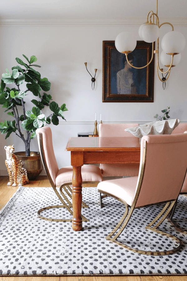 HOM: House of Hipsters Magazine-Worthy Boho Home dining