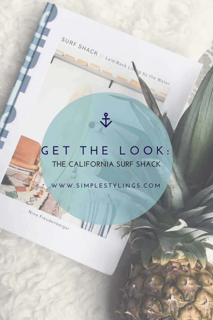 Get the look in this California style home decor book for inspiration