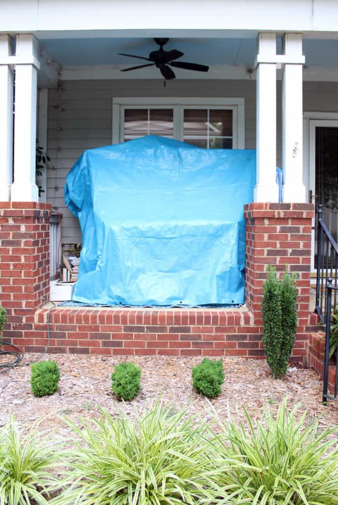 Before + After: New & Refinished Hardwood Floors porch