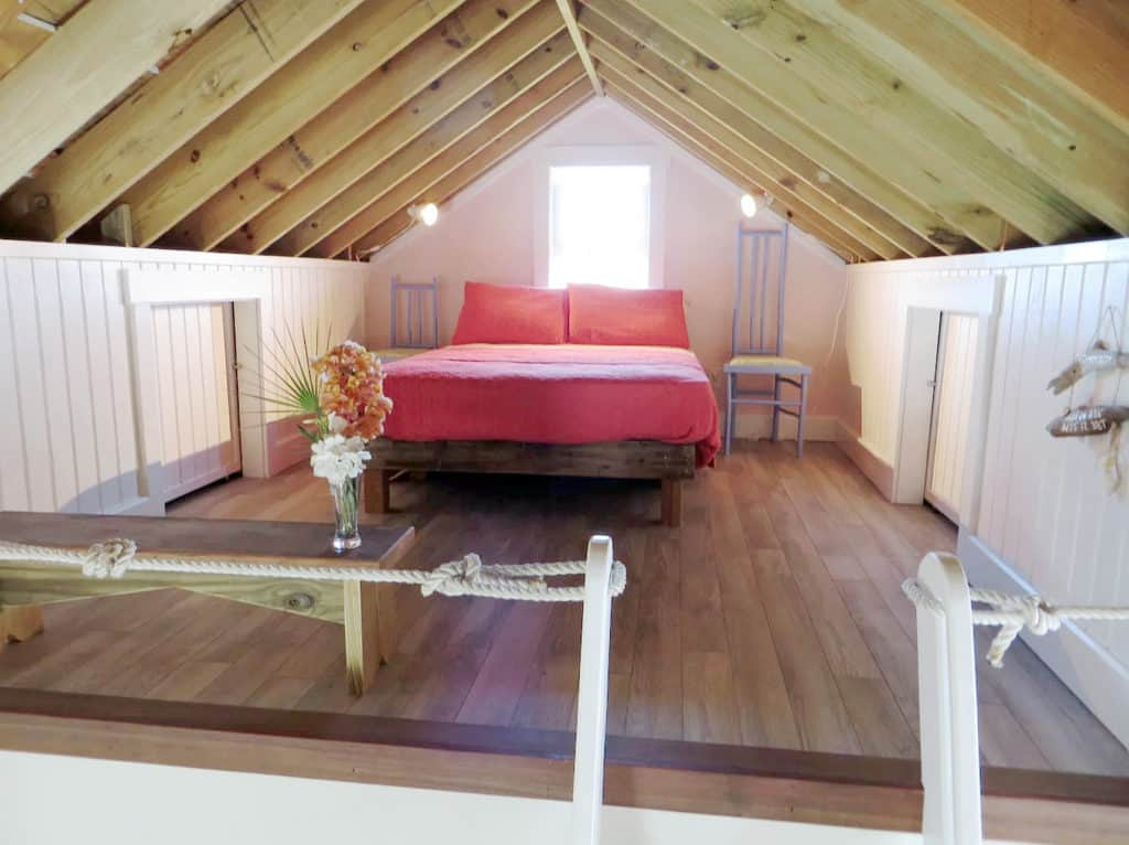 Home of the Month: Beautiful Bahamian Home (For Sale) loft bedroom