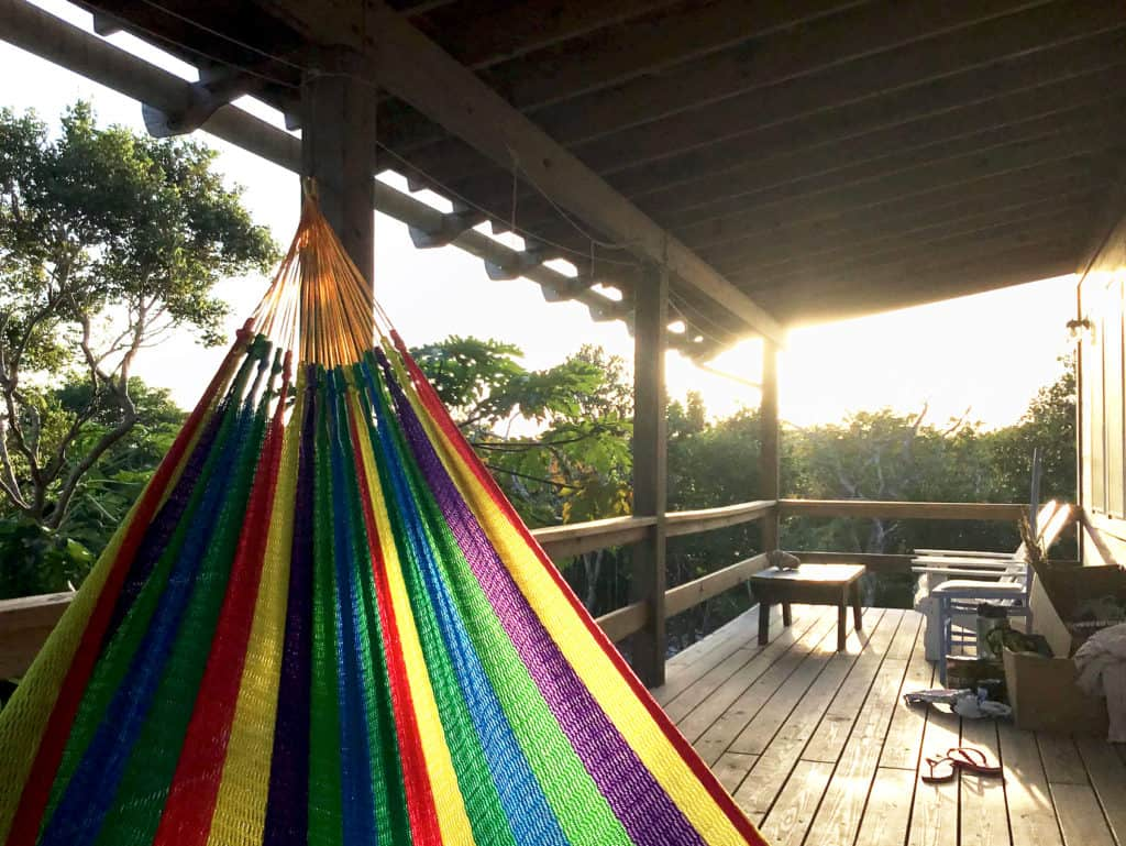 Home of the Month: Beautiful Bahamian Home (For Sale) evening deck