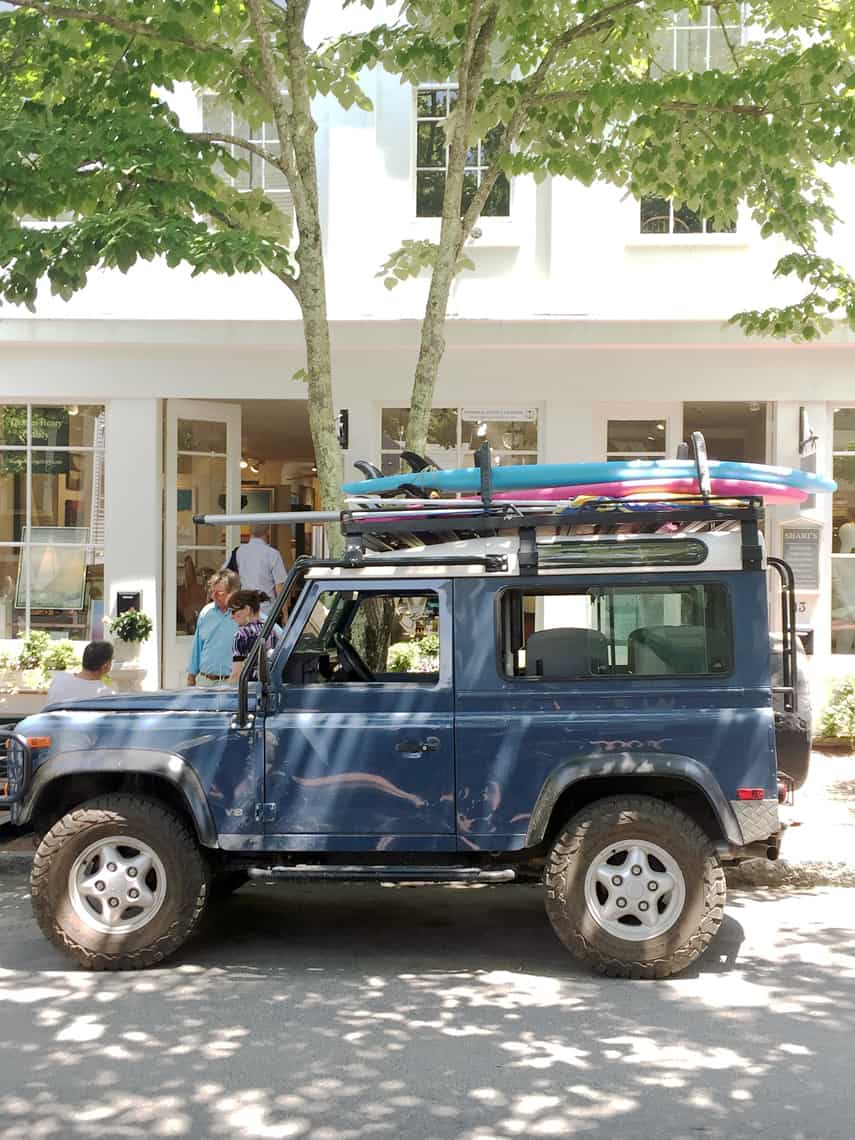 Top 5 Friday: 5 Ways To Live That Nantucket Life jeep