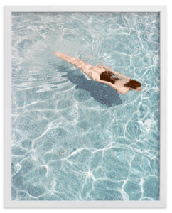 Top 5 Friday: Favorite Affordable Beach Photography Prints swimmer