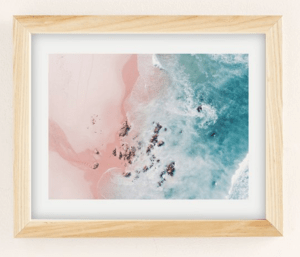 Top 5 Friday: Favorite Affordable Beach Photography Prints pink