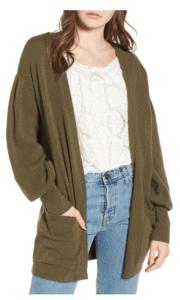 Top 10 (In-Stock) Nordstrom Sale Favorites: Women's cardigan