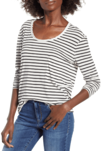Top 10 (In-Stock) Nordstrom Sale Favorites: Women's stripe tee