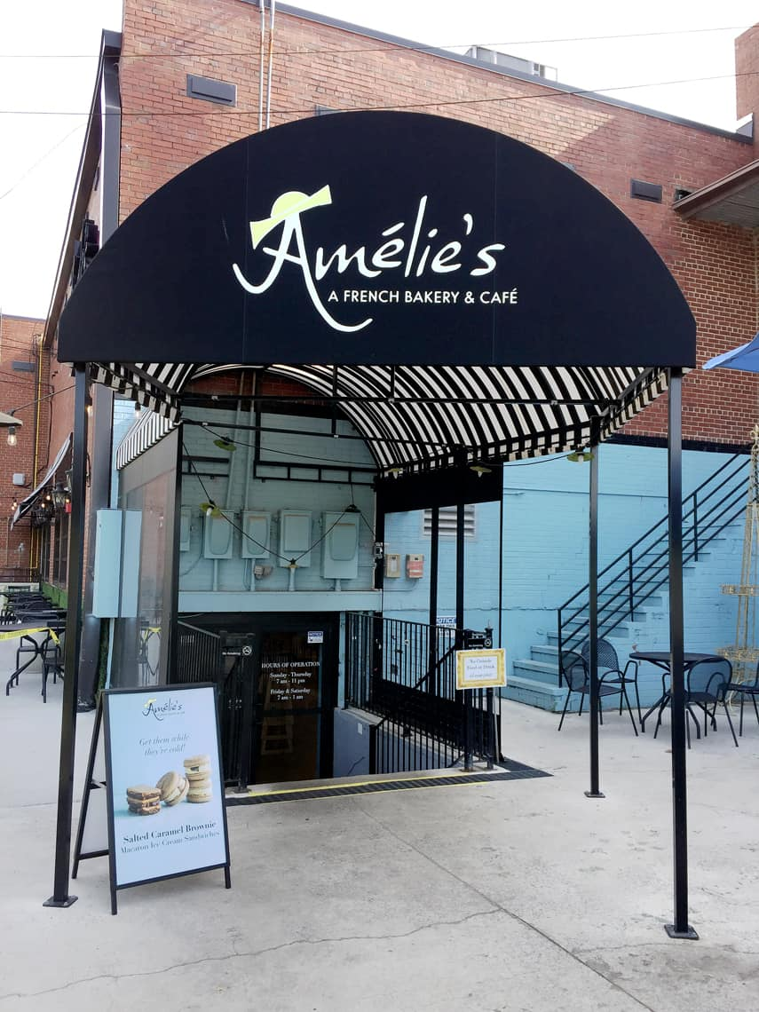 Local Spotlight: Amelie's French Bakery, Charlotte NC park road