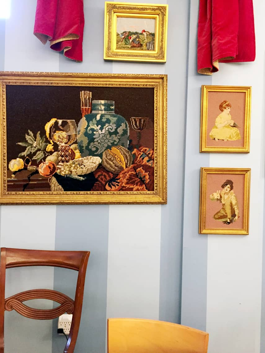 Local Spotlight: Amelie's French Bakery, Charlotte NC art