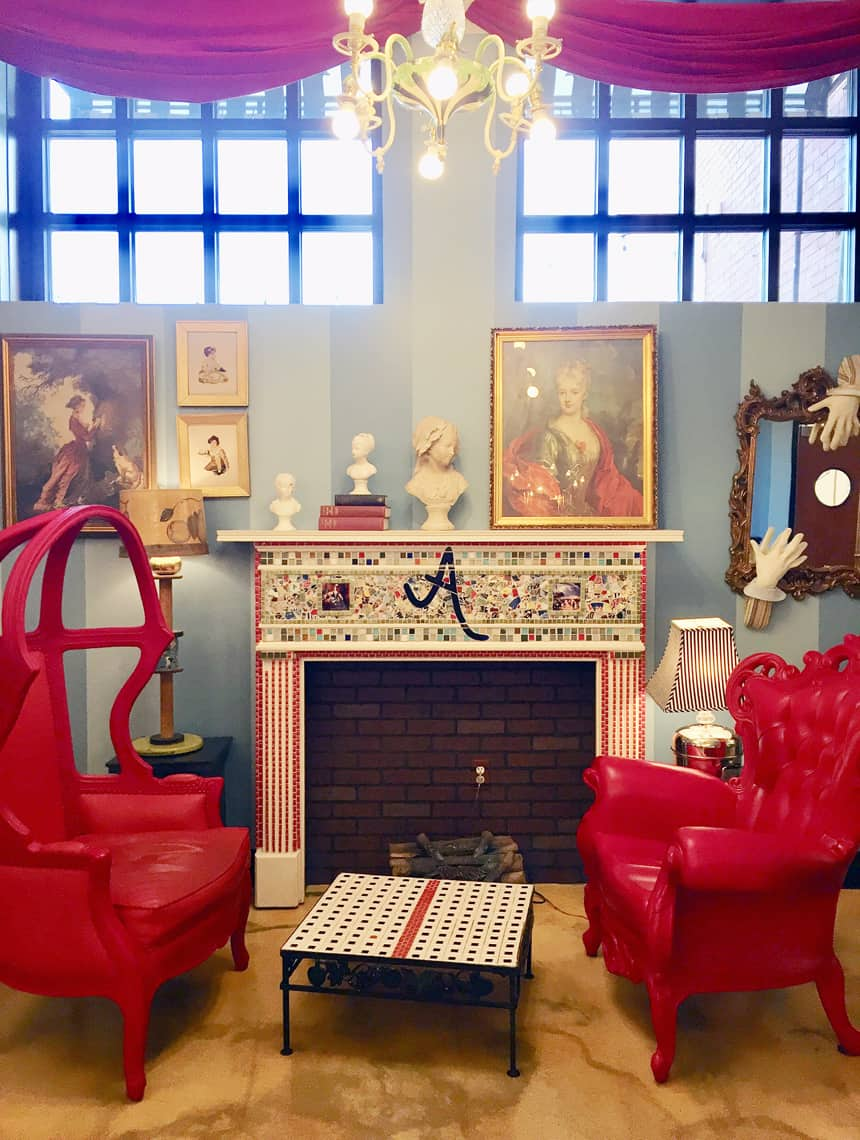 Local Spotlight: Amelie's French Bakery, Charlotte NC crazy chairs