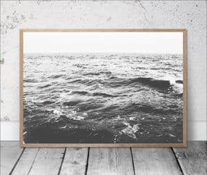 Top 5 Friday: Favorite Affordable Beach Photography Prints black and white