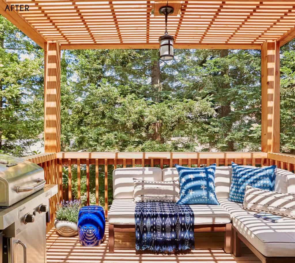 August Favorite Things + What's New Around The House deck