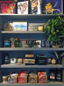 Local Spotlight: Mac Tabby Cat Cafe, Charlotte, NC shelves