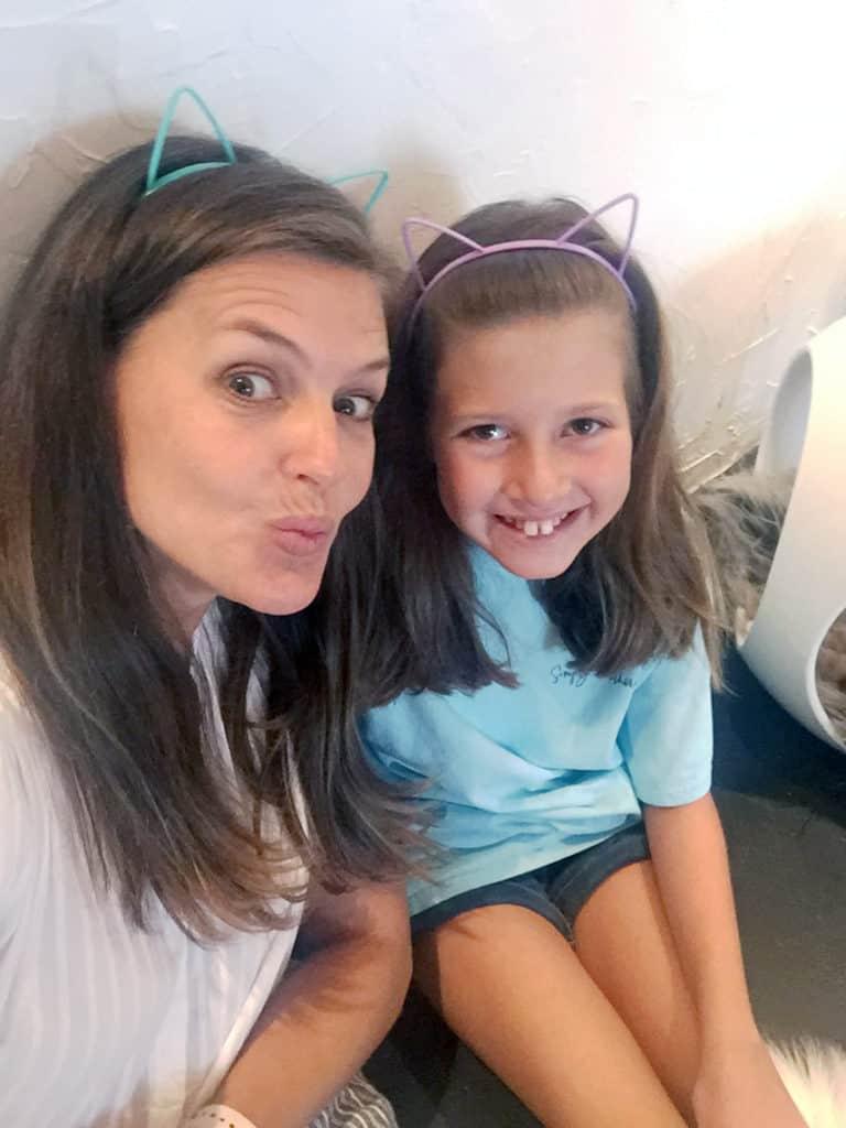 Local Spotlight: Mac Tabby Cat Cafe, Charlotte, NC girls